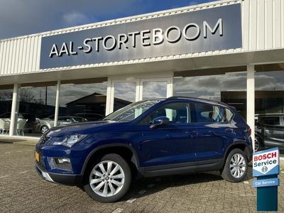 tweedehands Seat Ateca 1.0 EcoTSI 115pk Style | Bluetooth carkit + Audio | PDC | ECC | Cruise Control | Apple Carplay | Mirrorlink | Regen- en lichtsensor