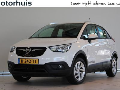 tweedehands Opel Crossland X 1.2 TURBO 110PK EDITION NAVI TEL PDC NAP