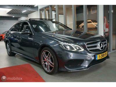 tweedehands Mercedes E300 BlueTEC HYBRID AMG PANO NAVI STOELVERW. CRUISE XENON LED