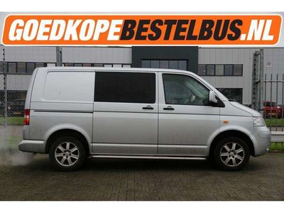 tweedehands VW Transporter T52.5 TDI 130PK * DC * Kort * Cruise * Airco * Slaat