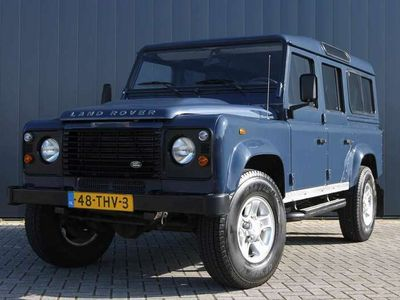 tweedehands Land Rover Defender 2.4 TD 110 SW S / 7 PERSOONS / SPORTSTOELEN