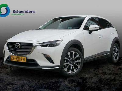 tweedehands Mazda CX-3 2.0 SkyActiv-G 121 Luxury, Apple carplay, camera.