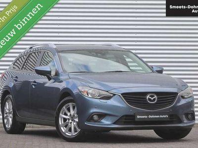 tweedehands Mazda 6 Sportbreak 2.0 TS+ Lease Pack   Navi   Xenon   ZON