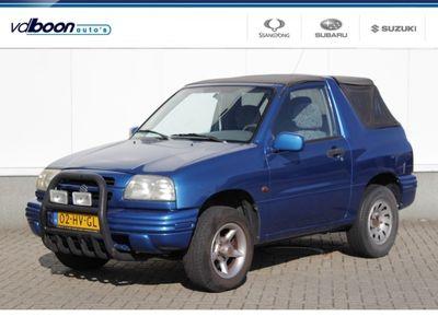 tweedehands Suzuki Grand Vitara 1.6 Cabrio | Hobbyauto
