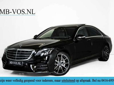 tweedehands Mercedes S400 400d 4M Lang AMG Standkachel/Massage/Distronic/Ent