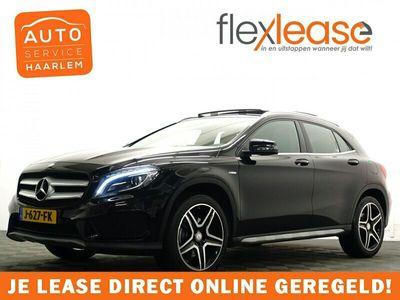 tweedehands Mercedes GLA250 4Matic 211pk Prestige AMG Aut- Panodak, Leer, Camera, Xenon Led