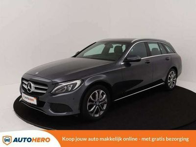 tweedehands Mercedes C350e C 350 EstateAvantgarde 210PK BZ41569 | Plug-in Hy
