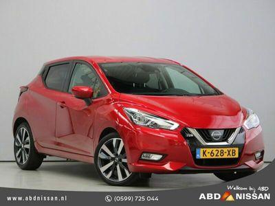 "tweedehands Nissan Micra 1.0 IG-T 100pk Tekna | Navi | Bose Audio | Clima | Cruise | Camera | 17"" Velgen"