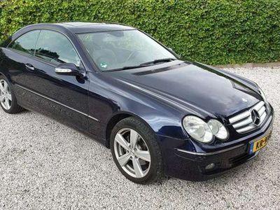 tweedehands Mercedes CLK200 Coupé K. Elegance Automaat/Leer