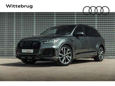 tweedehands Audi Q7 55 TFSIe 381pk quattro S Line / Nieuw 131k / Panor