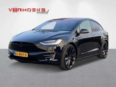 tweedehands Tesla Model X 90D 7p. (67450,- incl. btw)