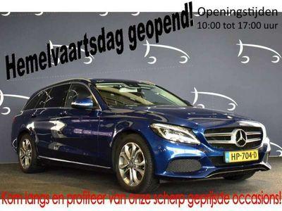 tweedehands Mercedes C350 Estate e EXCL.BTW LEDER LMV NAVIGATIE CRUISE