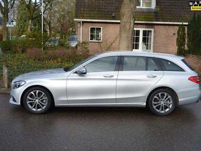 tweedehands Mercedes C300 Estate CDI HYBRID Prestige org NL/NAP/96dkm/half l