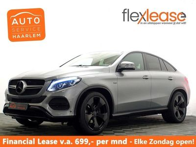 tweedehands Mercedes 350  GLE, Coupéd 4MATIC 259pk AMG Night Edition 9G- Leer, Navi, Camera, full