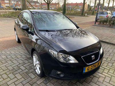 tweedehands Seat Ibiza SC Ibiza 1.6 77KW 3DRS 2009 Zwart