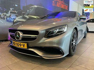 tweedehands Mercedes S63 AMG AMG Coupé 4Matic Coupe. Swarovski en Carbon afwerking