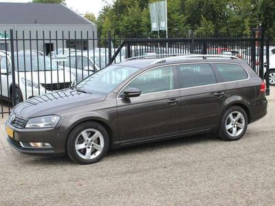 tweedehands VW Passat Variant 1.6 TDI BlueMotion Executive Edition, Navigatie!