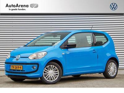 tweedehands VW up! UP! 1.0 60pk MoveBlueMotion, Maps&More, Telefoon, Verw. voorstoelen, Airco