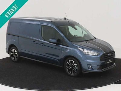 tweedehands Ford Transit Connect 230L L2 1.5 EcoBlue 120 PK Sport Nr. 503787 2 PERSOONS 2X SCHUIFDEUR NAVIGATIE CAMERA CRUISE CONTROL AIRCONDITIONING