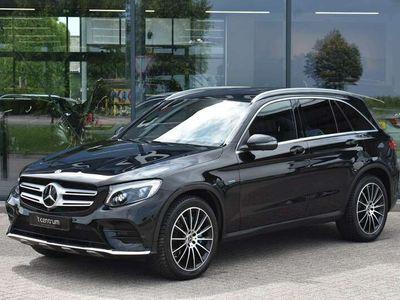 tweedehands Mercedes GLC350 350e 4MATIC AMG Pakket, *EX BTW* LED, Ad. Cruise C