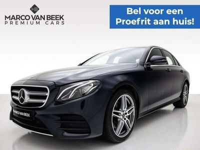 tweedehands Mercedes E200 Business Solution AMG Nw. Prijs € 65.789 Widescreen Distronic Climate