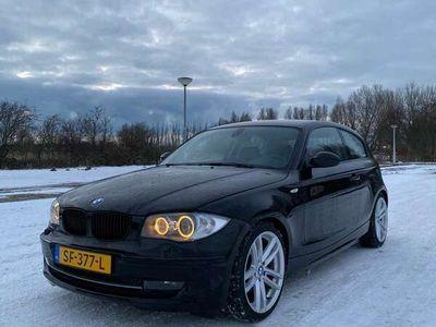 tweedehands BMW 120 120 1-serie 2.0 i 3DR 2008 zwart