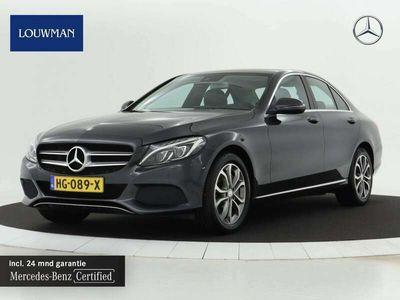 tweedehands Mercedes C350e Hybrid Automaat Navigatie | Airmatic | Achteruit