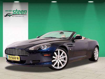 tweedehands Aston Martin DB9 Volante 5.9 V12 TOUCHTRONIC LEDER NAVIGATIE 43.000