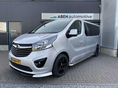tweedehands Opel Vivaro 1.6 CDTi 125PK Dubbel Cabine Limited Edition (NAVI