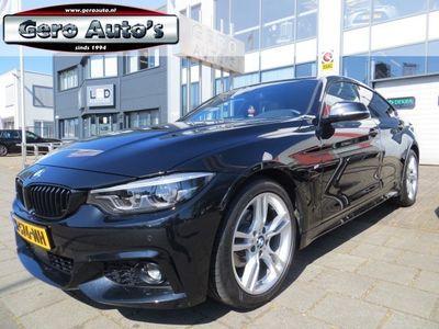 tweedehands BMW 420 4 Serie Gran Coupé i High Executive m-pakket vol extra`s zwart leder