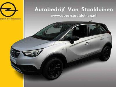 tweedehands Opel Crossland X 1.2 Turbo Innovation 130pk| Navigatie| Climate Controle| Panorama Camera| Parkeersensoren v+a