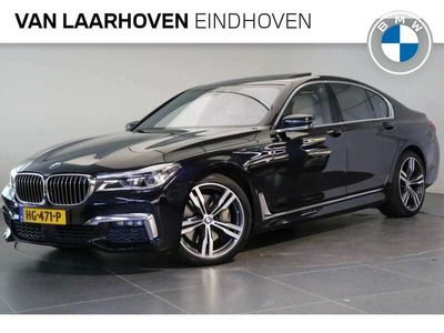 tweedehands BMW 750 7-SERIE i xDrive High Executive M Sport Automaat / Elekt. schuif-kanteldak / Surround View / Laserlicht / Soft Close / Bowers & Wilkins / Head-Up / Navigatie Professional
