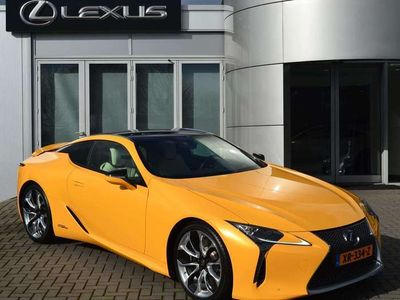 tweedehands Lexus LC 500 LC Flare Yellow Edition Limited Edition