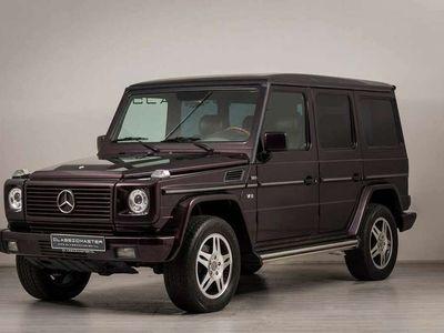 tweedehands Mercedes G500 St.Wagon Btw auto, Fiscale waarde € 22.000,-