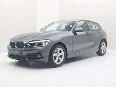 tweedehands BMW 118 1-SERIE i 136pk 6-Bak Sportline Bns [ XENON+NAVIGATIE+LEDER+PDC+C