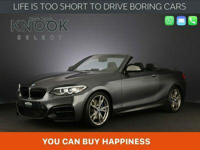 tweedehands BMW M240 2-SERIE CabrioM-Sport Shadow High Executive | Harman Kardon | Leder | Memory Seats