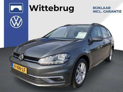 tweedehands VW Golf Variant 1.5 TSI Comfortline 150pk Executive / Navigatie / Bluetooth / MF stuurwiel / Perkeersensoren Fabrieksgarantie tot 04-11-2021 !