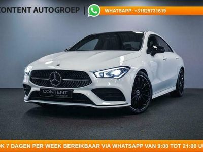 tweedehands Mercedes 200 CLA-Klasse CoupéAMG LINE / PANO / BURMESTER / CAMERA