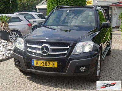 tweedehands Mercedes GLK320 CDI 4-Matic 2009 Zwart Panodak Camera Harman Kardo
