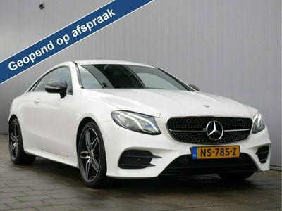 tweedehands Mercedes E200 E-KLASSE Coupé184pk AMG-Line AUTOMAAT 19 Inch / LED / Navigatie / Camera