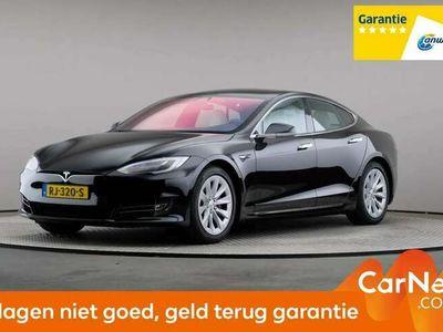 tweedehands Tesla Model S 75 kWh Base Automaat, LED, Leder, Navigatie, Pan