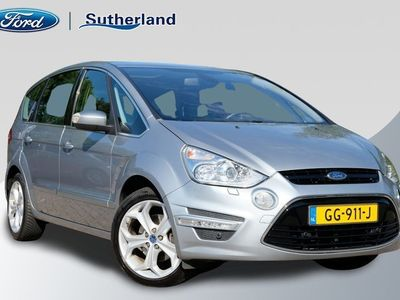 tweedehands Ford S-MAX 1.6 EcoBoost Platinum 7p. 160pk | Xenon | PremiumSound System | Alcantara | Camera en Parkeersensoren | Keyless Entry
