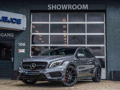 tweedehands Mercedes GLA45 AMG AMG 4Matic Edition 1 PANO LEDER 20 INCH BLACK/LINE