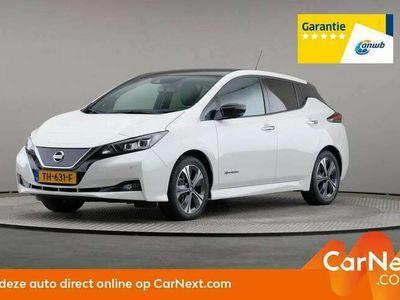 tweedehands Nissan Leaf Tekna 40 kWh, LED, Leder, € 21.900