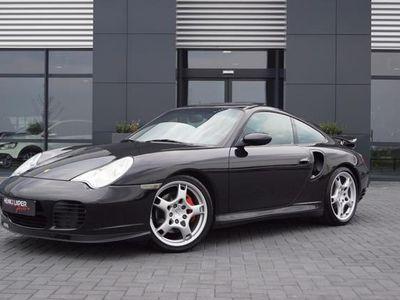 tweedehands Porsche 911 3.6 Coupe Turbo (420PK) 94 DKM Leer / Navi