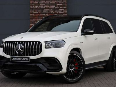 tweedehands Mercedes GLS63 AMG 4-MATIC+ Premium Plus, Luchtvering, 7 Pers., Distr