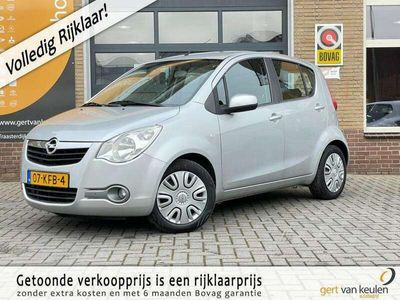 tweedehands Opel Agila 1.2 EDITION 5-DEURS AIRCO/TR.HAAK/HOGE ZIT/89.000K