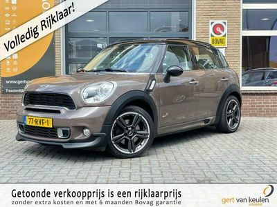 tweedehands Mini Cooper S Countryman 1.6 ALL4 CHILI JCW WORKS SPORT FULL-OPTIONS/NL-AUTO!