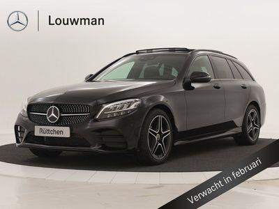 tweedehands Mercedes 180 C-KLASSE EstateBusiness Solution AMG | Panoramadak | Nightpakket | Digitale radio | Volledig digitaal combi-instrument