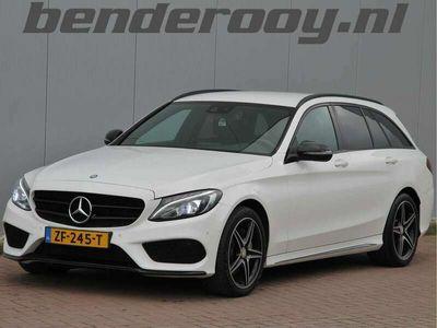 tweedehands Mercedes C220 Estate CDI 170PK 4MATIC AMG-LINE BLACK EDITION